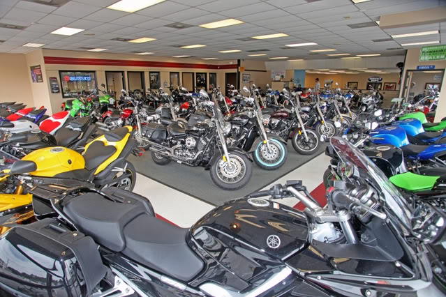Sunrise Cycles Motorcycle Showroom
