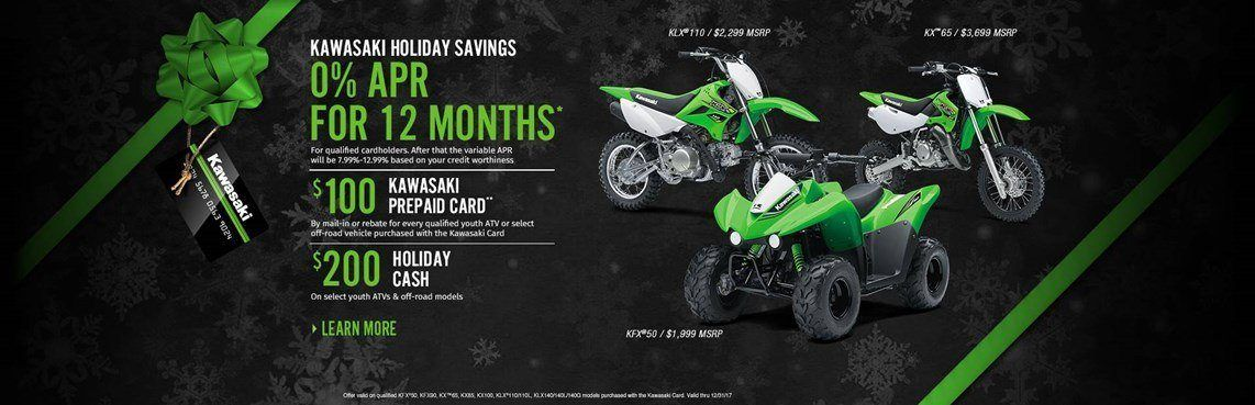 KAWASAKI HOLIDAY SAVINGS